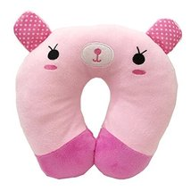 Set Of 2 Cute U Shaped Home/Office Healthy Neck Pillow Travel Neck Pillo... - $21.57