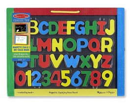 Melissa & Doug Magnetic Chalkboard and Dry-Erase Board - New / Sealed - $19.38