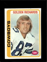1978 TOPPS #494 GOLDEN RICHARDS EX COWBOYS  *X7218 - $1.24