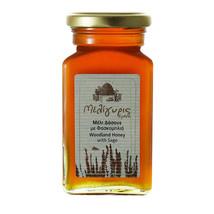 Cretan Woodland Honey with Sage 450gr-17.86oz Jar from Crete Island GREE... - $27.56