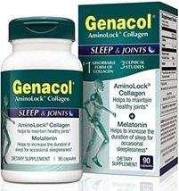 Genacol AminoLock Collagen - Sleep & Joints -  90 Capsules - $12.99