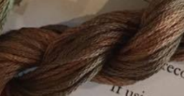 Wagon Wheel (CCT-243) 6 strand hand-dyed cotton floss Classic Colorworks - $2.15