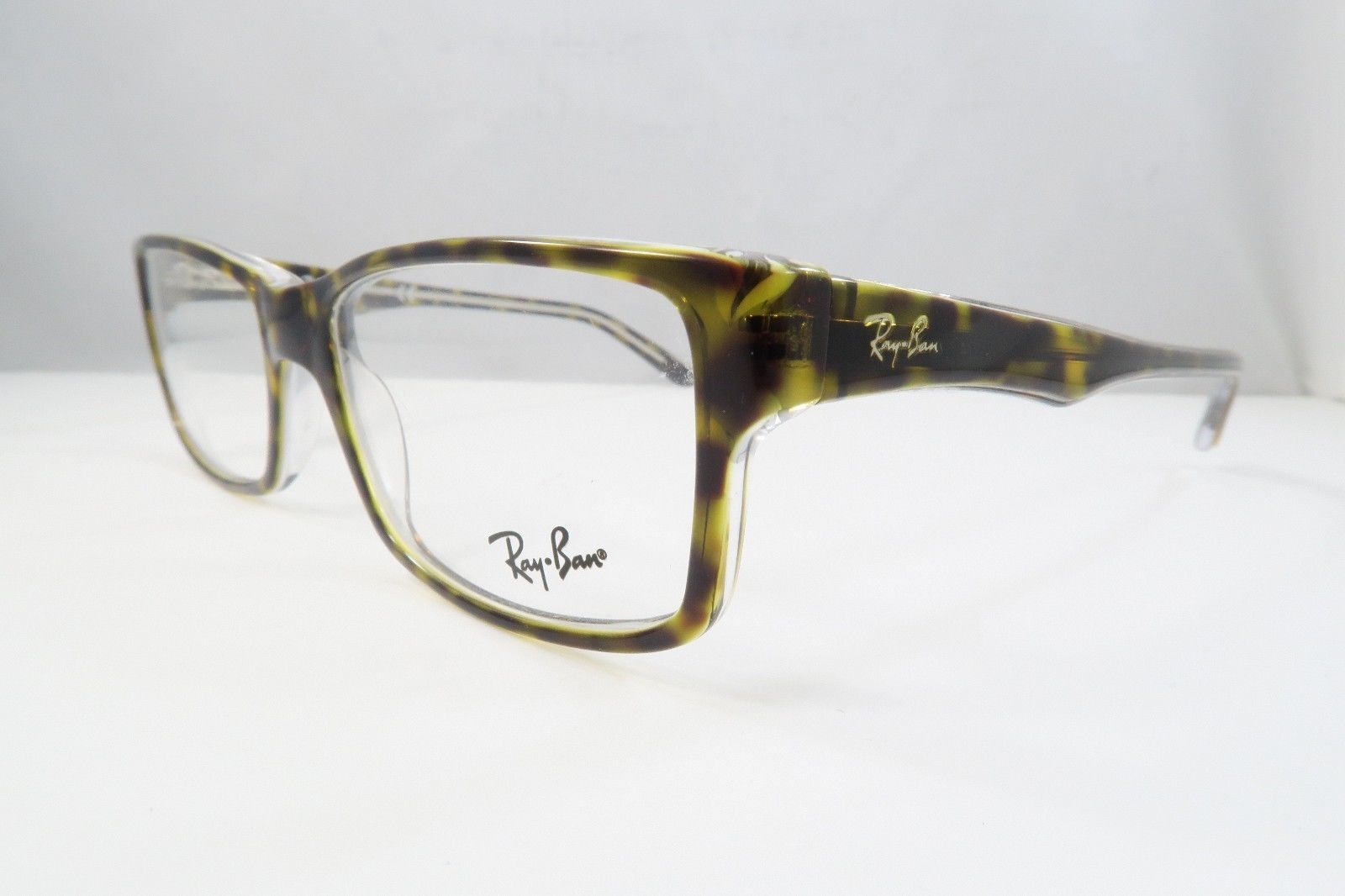 c74d27031738c Ray-Ban RB 5245 5082 Havana on Clear New Authentic Eyeglasses 52mm - 192