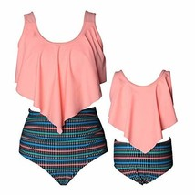 Baby Gril Swimsuits Mommy and Me Bathing Suits Family Matching Two Piece... - $19.52