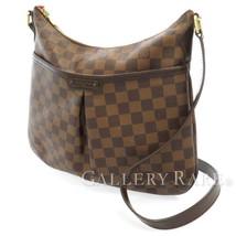 LOUIS VUITTON Bloomsbury PM Damier Canvas Ebene Shoulder Bag N42251 Auth... - $844.48