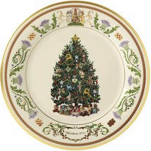 Lenox 2019 Trees Around The World Plate Scotland 29th Annual Deer Christ... - £56.20 GBP