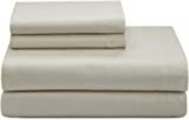 Calvin Klein 4 piece  King Sheet Set 270 Thread - $118.99