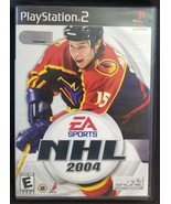 N) NHL 2004 (Sony PlayStation 2, 2003) Video Game - £3.66 GBP