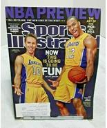 Sports Illustrated October 2012 Steve Nash Dwight Howard Los Angeles Lakers - $4.94
