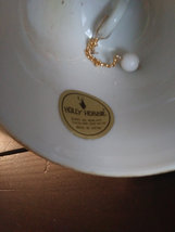 """Vintage Holly Hobbie Bell 1974  """"Good company is a treat in itself"""" made in Japa image 2"""