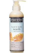 Cuccio Naturale Body Butter Wash, Milk & Honey  8 oz