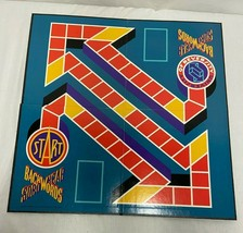 Vintage BACKWORDS SDROWKCAB Board Game A Giant Step Backwards 1988 - $17.30