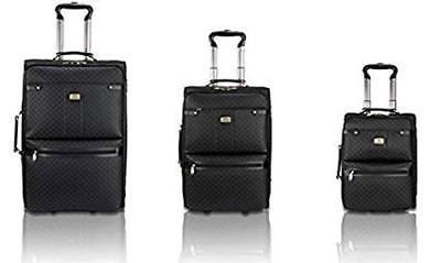 Rioni Signature Spinner Luggage Set - 3 piece Set Black L@@K