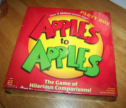Apples to Apples Board Game - The Game of Halarious Comparisons by Mattel Games - $15.99