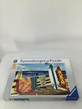 Ravensburger Beautiful Beaches Surfs Up Hawaii Coast Hang Loose 500pc Pu... - $14.95