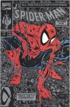 Spider-Man Comic Book #1 Silver Version Un-Bagged Marvel 1990 NEAR MINT UNREAD - $11.64