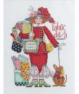 Bucilla Alma Lynne Counted Cross Stitch Kit, 7.75 by 11-Inch, 45620 Fabr... - $3.91