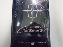 1965 Ford Lincoln Continental Maintenance Service Repair Shop Manual New 1965 - $117.81