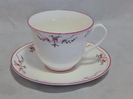 Royal Worcester Pink Petite Fleur Cup and Saucer Set - $29.70