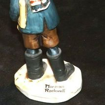 """""""Back to School"""" by Norman Rockwell Figurine AA19-1662 Vintage NR2 image 4"""