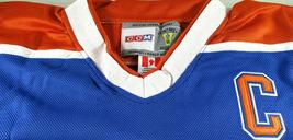 WAYNE GRETZKY / NHL HALL OF FAME / AUTOGRAPHED EDMONTON OILERS PRO STYLE JERSEY image 6