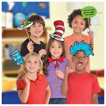 Amscan Dr. Seuss Photo Prop Kit, 13 Pack Party Supplies, Multicolor - $58.71