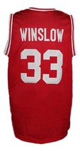 Eddie Winslow Vanderbilt Family Matters Basketball Jersey New Sewn Red Any Size image 2