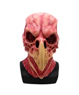 Horror Bird Head Skeleton Mask Full Face For Halloween Scary Party Latex... - $18.10