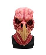 Horror Bird Head Skeleton Mask Full Face For Halloween Scary Party Latex... - $18.10