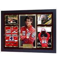 Ayrton Senna signed autograph photo print Formula 1 Champion ayrton senn... - $20.44