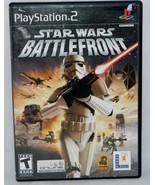 Star Wars Battlefront  - Case & Manual Only - PlayStation 2 - $4.94