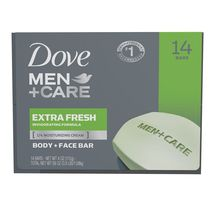 Dove Men+Care Soap Bars, Extra Fresh 4 oz., 14 ct - $22.99