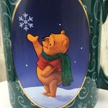 1998 VTG Disney Winnie the Pooh Christmas Mug Snowflake Holiday Coffee Mug - $19.79