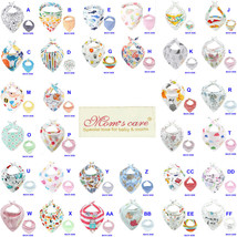 Soft Double-layer Double-sided Cotton Baby Bibs Infant's Feeding Triangl... - $6.99