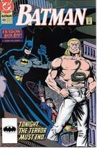 Batman Comic Book #469 Dc Comics 1991 Very FINE/NEAR Mint Unread - $3.50
