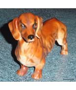 Vintage LARGE Goebel Porcelain DACHSHUND Dog Figurine West Germany CH621... - $145.49