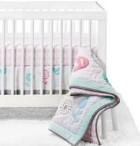 Circo 4 Pc Baby Girl Crib Nursery Bedding Set Burst Of Spring Bird Pink Floral - $53.99