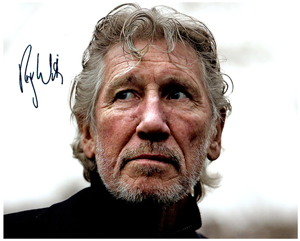 Primary image for ROGER WATERS Authentic Original  SIGNED AUTOGRAPHED 8X10 w/ COA 163
