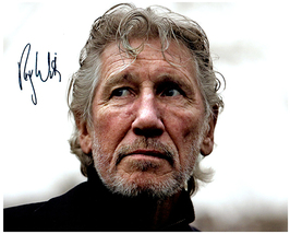 ROGER WATERS Authentic Original  SIGNED AUTOGRAPHED 8X10 w/ COA 163 - $95.00