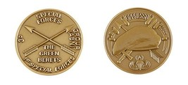 ARMY 3RD SPECIAL FORCES GROUP THE GREEN BERETS BRONZE ABN CHALLENGE COIN - $16.24