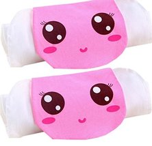 2 Lovely Bear Baby Cotton Gauze Towel Wipe Sweat Absorbent Cloth Mat Towels
