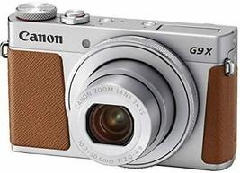Canon Compact Digital Camera PowerShot G9 X Mark II Silver 1.0-inch Sens... - $646.38