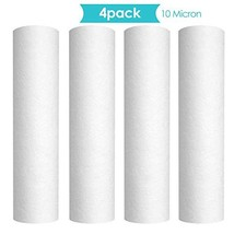"""Membrane Solutions 10 Micron 10"""" x 2.5"""" Whole House Sediment Water Filte... - $19.25"""