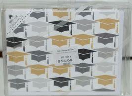 Rosanne Beck 211 1355 Folded Note Grad Hats Gold Cards and Envelopes Package 10 image 3