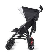 Foldable Twin Baby Double Stroller Ultralight Umbrella Kids Stroller-Black - $113.73