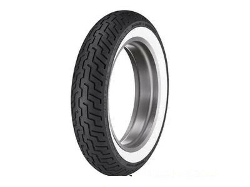 New Dunlop D402 Harley MT90B16 Front Wide Whitewall WWW Tire MT90-16 72H TL