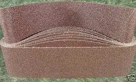 """10pc 4 """" X 36 """" 36 GRIT SANDING BELT butt Joint sand paper Made in Germa... - $24.99"""