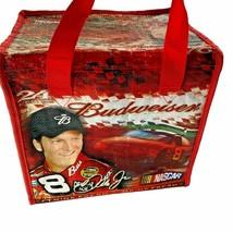 Dale Earnhardt Jr 24 Can Budweiser Advertising Zipper Cooler 2005 W/ Car... - $12.86