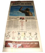 12.9.2011 St Louis POST-DISPATCH Newspaper SPORTS Albert Pujols Goes To ... - $14.99