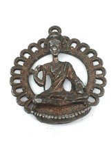 Vintage handmade handcrafted sterling silver BUDDHA Pendant!!! - $43.35